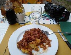 Pausa pranzo al ristorante