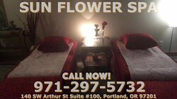 Sunflower Spa, is an asian massage spa designed to help you reduce stress, relieve build up chronic pain, and increase the overall quality of your life! We specialize in multiple affordable, customized treatments to meet the needs of a wide variety of clients in a peaceful setting! We are proud to be providing Authentic Asian Massage therapy services in our beloved community of Portland, OR!