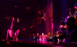 Forty Deuce Burlesque Supper Club Performance