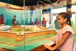 See a scale model of Ft. Jefferson at the Dry Tortugas.