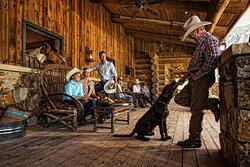 Palisade Ranch Porch