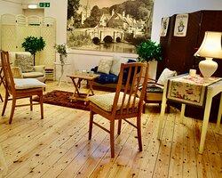 Old Rectory pop up Tearoom interior
