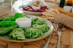 """Green dumplings """"Kętrzyńskie"""""""