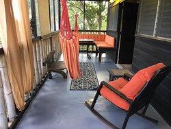 The Berry Suite Private Porch at Katamah Treasure Beach Jamaica