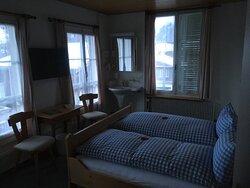 Schöner Aufenthalt in einem typisch Schweizer Hotel