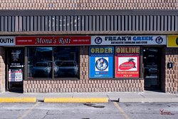 Storefront for both businesses