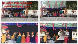Balaram Activity Desk offer varieties of activities
