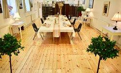 Tearoom interior