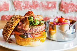 L'american steak house burger