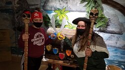 Great job team in our newest game Heart of a Pirate!
