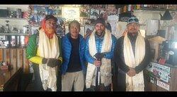 Fahadbadar n seven summit team during the pandemic 2020..winter expedition
