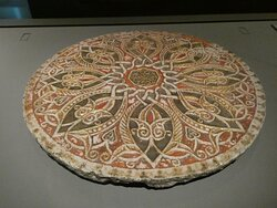 Carved Marble Panel (14-16th c) from Egypt