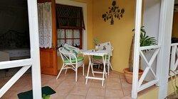 Standard double patio