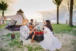 Camping on the beach at XANA Phuket
