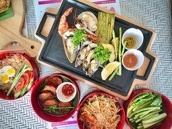 Seafood BBQ Set at THB 399