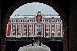 Вид на отель от Кремля.