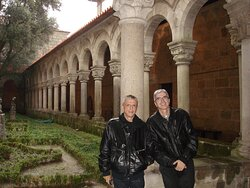 "Old cloisters at the ""Museu de Alberto Sampaio"" in Guimarães."