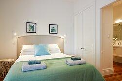 Queen bedroom apartment