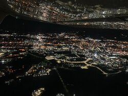 Night flying is absolutely beautiful!