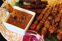 Chicken and Mutton Satay