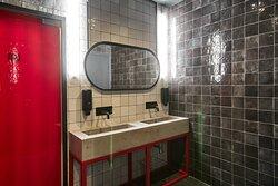 RED RABBIT coffee • pizza • bar #следуйзакраснымкроликом Лучший интерьер формата fast casual кофе пицца бар Красный Кролик Новосибирск