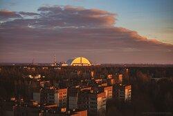 Вечернее время. ЧАЭС и город Припять