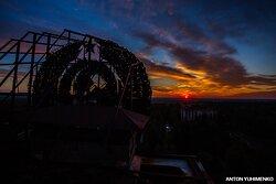 Рассвет в Припяти. Лето.