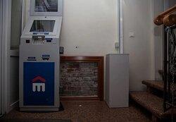 Участок оригинальной стены в банке Восточный