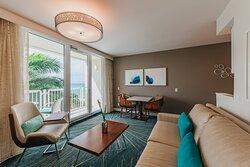 Ocean Suite - Living Area