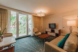Island Suite - Living Area