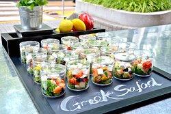 Simple Greek Salads