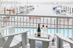 One-Bedroom Marina Suite - Balcony