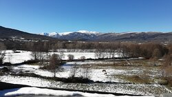 Vistas a la Sierra de Gredos Norte (enero 2021)