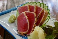 Seared Tuna Sashimi