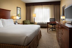 Our king rooms offer comfortable and spacious accommodations.