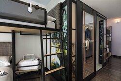Twin Quad Bunk Guest Room