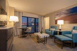 Channelside Suite - Living Area