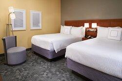 Double/Double Suite – Sleeping Area