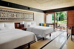 Double/Double Tropical Garden Guest Room