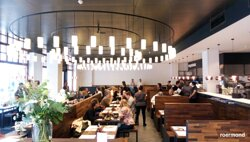 the inside of wagamama roermond