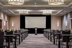 Harris, Hidalgo & Navarro Meeting Room - Classroom Setup