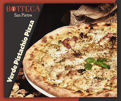 Pizza Verde Pistacchio