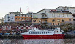 Scandic Laholmen facade ferry