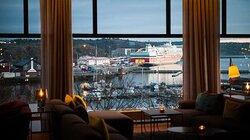Scandic Laholmen Lounge Bar View