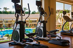 Fitness Center – Pool View
