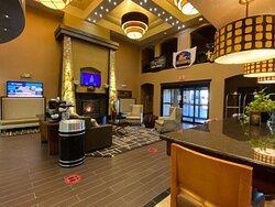 Our Beautiful Lobby.
