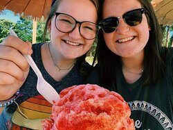 The shave ice is so soft and sweet!