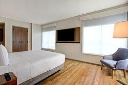 One Bedroom King Suite with Kitchen- Bedroom.