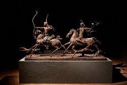 Постоянная экспозиция со скульптурами Даши Намдакова в новом формате.
