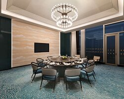Shangri La Hotel Putian Chinese Restaurant Private Dining Room